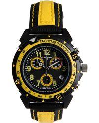 Sector Wrist Watch - Black