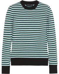 Jonathan Saunders Pye Striped Merino Wool Sweater - Lyst