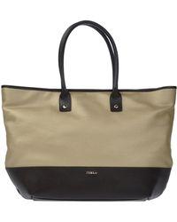 Furla Handbag beige - Lyst