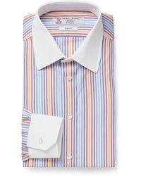 Turnbull & Asser Multicoloured Slim-fit Cotton Oxford Shirt - Lyst