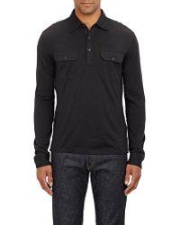 Ralph Lauren Black Label - Jersey Polo Shirt - Lyst