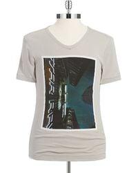 G-star Raw Slim Fit Graphic T Shirt - Lyst