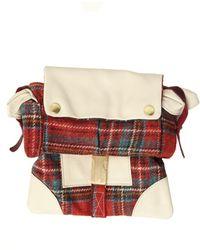Rag & Bone Utility Bag in Red Plaid - Lyst