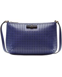 Marc By Marc Jacobs Sophisticato Perforated Leather Shoulder Bag - Lyst