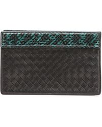 Bottega Veneta Small Intrecciato Clutch Bag - Lyst