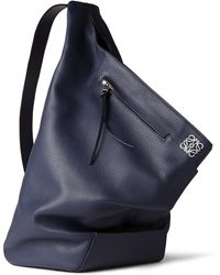 Loewe Fullgrain Leather Backpack - Lyst