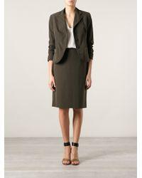 Prada Skirt Suit - Brown