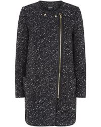 Juicy Couture Loose Sweater Knit Coat - Lyst