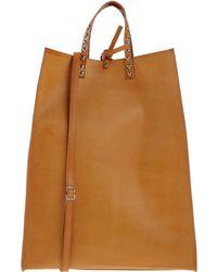 Borsetteria Napoli 1985 - Large Leather Shopper Bag - Lyst