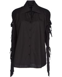Plein Sud Jeanius Shirt - Black