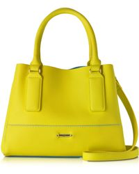 Roccobarocco - Rb Honore Lime Mini Tote Bag - Lyst