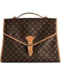 Louis Vuitton 'Beverly Gm' Briefcase - Brown
