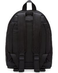 Palm Angels - Black Embroidered Leaf Backpack - Lyst
