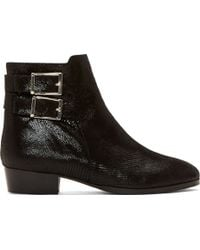 Surface To Air Black Suede Drew Ankle Boots - Lyst
