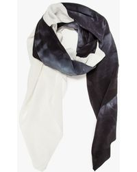 Willow Knows Silk Scarf - Lyst