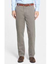 Cutter & Buck 'Curtis' Flat Front Five-Pocket Cotton Twill Pants - Lyst