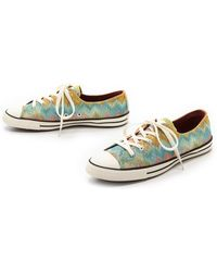 Converse Chuck Taylor All Star Missoni Sneakers - Citrusmulti - Lyst