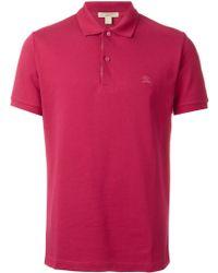 Burberry Brit - Oxford Polo Shirt - Lyst
