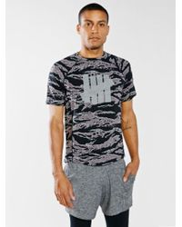 Undefeated Camo Technical Ii Tee - Lyst