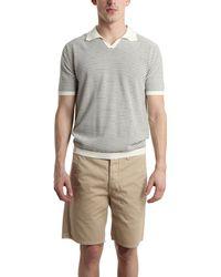 C P Company Short-Sleeve Polo - Lyst