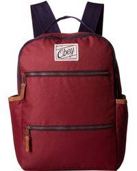Obey - Bad Lands Backpack - Lyst