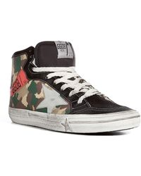 Golden Goose Deluxe Brand 212 Leather High-top Sneakers - Lyst