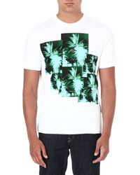 Diesel Jungle-Print T-Shirt - For Men - Lyst