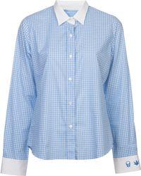 Lucien Pellat Finet - Classic Plaid Shirt - Lyst