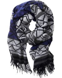 Banana Republic | Patterned Scarf | Lyst