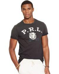Polo Ralph Lauren Bulldog Cotton T-Shirt - Lyst