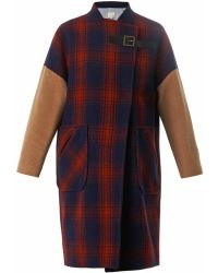 Band of Outsiders - Blanket Wool Coat - Lyst