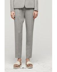 Rag & Bone Montgomery Pant gray - Lyst