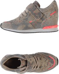 Ash Gray Low-tops  Trainers - Lyst