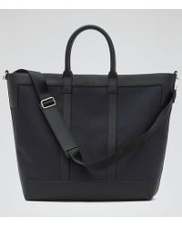Reiss | Roma Textured Tote Bag | Lyst