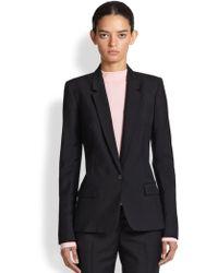Acne Studios Single Wool Suit-Jacket - Lyst