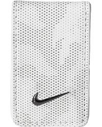 Nike Laser Money Clip - White