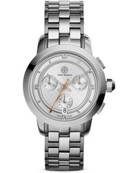 Tory Burch The Tory Chronograph Watch, 37Mm - Lyst