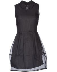 Camilla & Marc Sleeveless Silk Short Dress - Lyst