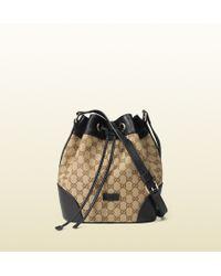 Gucci Gg Classic Bucket Bag - Lyst