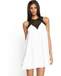 Tfnc Isadora Tunic Dress - Lyst