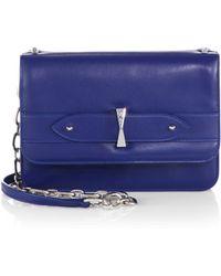 Alexander McQueen Legend Flap Crossbody Bag - Lyst