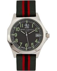 Smart Turnout Military Stainless Steel Watch - Multicolour