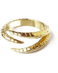 J. Herwitt - Triple Claw Ring - Lyst