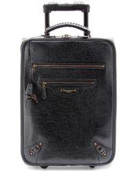 Balenciaga - Classic Voyage Carryon Suitcase - Lyst