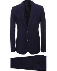 Alexander McQueen Mcqueen 2-Piece Wool Mohair Suit