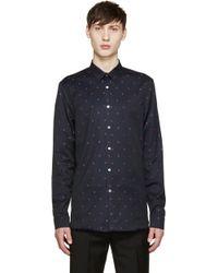 Paul Smith - Black Strawberry Print Shirt - Lyst