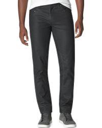 Calvin Klein Jeans Slim-straight Moto Pants - Lyst
