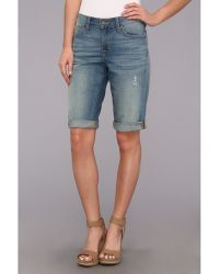 CJ by Cookie Johnson Honor Rollup Bermuda Short in Mcknight - Blue