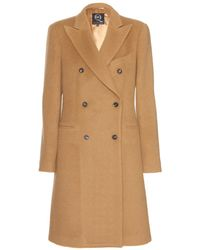 McQ by Alexander McQueen Wool-Blend Coat - Lyst