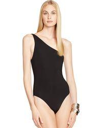 Ralph Lauren One-Shoulder Monokini - Lyst
